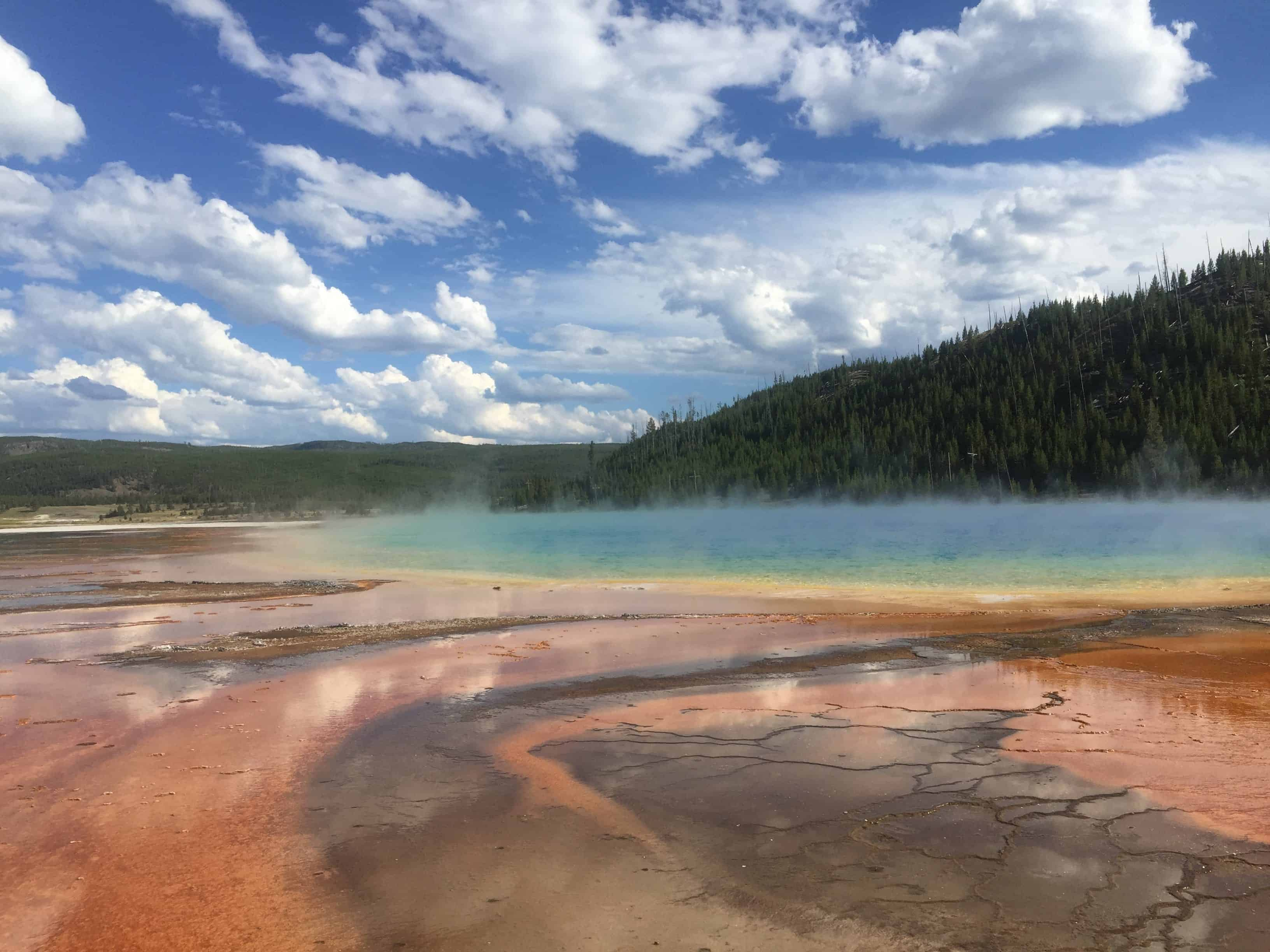 Paid time off in Yellowstone national park